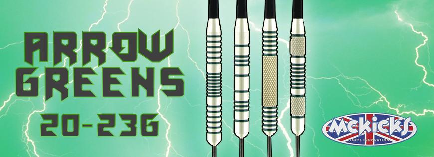 Arrow Green Darts