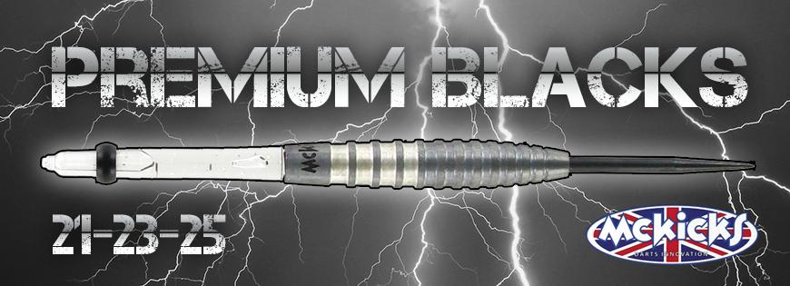 Premium Black 90% Darts