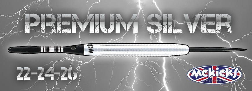 Premium Silver 90% Darts