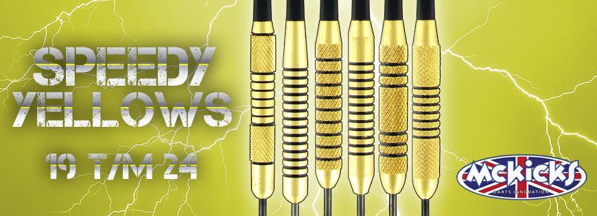 Speedy Yellow Darts