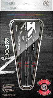 Vapor Z Black Red 80% Softtip Darts   Darts Warehouse