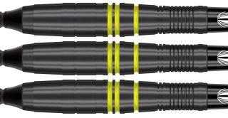 Vapor Z Black Yellow 80% Softtip Darts   Darts Warehouse