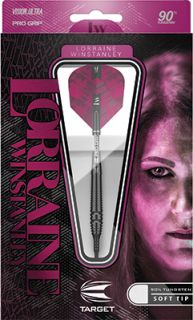 Lorraine Winstanley 90% Target Softtip   Darts Warehouse