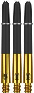 Target Carbon Titanium Pro Gold Medium   Darts Warehouse