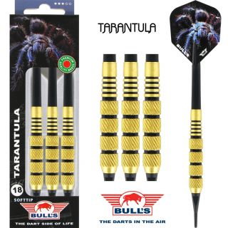 Softtip Bull's Tarantula Brass   Kinderpijlen   Darts Warehouse