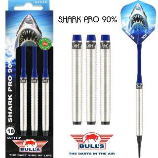 Bull's Softtip Shark Pro 90% E-Dartpijlen   Darts Warehouse