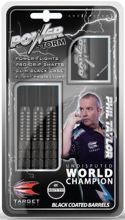 Softtip Power Storm Phil Taylor Dartpijlen | Darts Warehouse