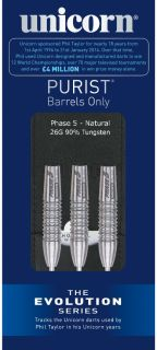 Evolution Purist Phase 5 95%   Darts Warehouse