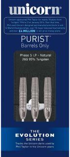 Evolution Purist Phase 5 LP 95%   Darts Warehouse