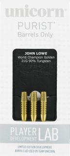 W.C John Lowe 90% Gold   Dartshop DartsWarehouse.nl
