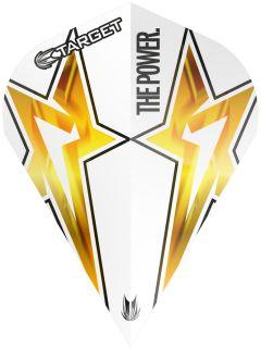 Target Phil Taylor Vision G3 Vapor S White Star   Darts Warehouse