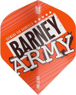 Vision Ultra Player Barney Army Orange Std. Target Flight | Darts Warehouse