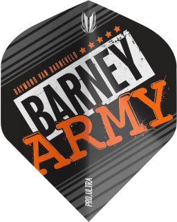 Vision Ultra Player Barney Army Black Std. Target Flight | Darts Warehouse