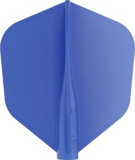 8 Flight Std.6 Blue Target Dartflights | Darts Warehouse