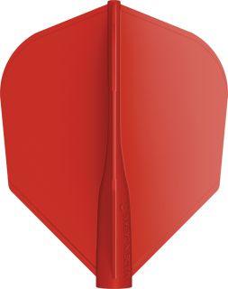 8 Flight Std.6 Red Target Dartflights | Darts Warehouse