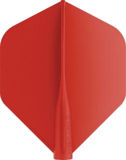 8 Flight Std. Red Target Dartflights | Darts Warehouse