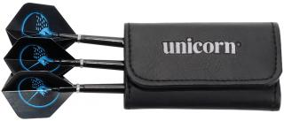 Unicorn Mini Dart Sak Wallet Black Leather | Darts Warehouse