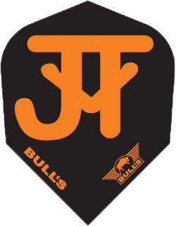 Bull's Powerflight Std.6 JvT Black Orange   Darts Warehouse