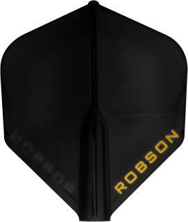 Bull's Robson Plus Flight Std. Black | Darts Warehouse