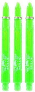 Glowlite Color Medium Green | Nylon Shafts | Dartswarehouse