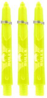 Glowlite Color Short Yellow | Nylon Shafts | Dartswarehouse