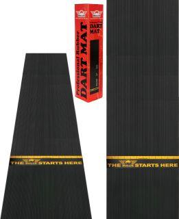 Rubber Dartmat met Sticker 300x60 cm | Darts Warehouse