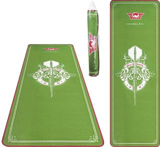 Bulls Green Dartmat 241x80cm | Darts Warehouse