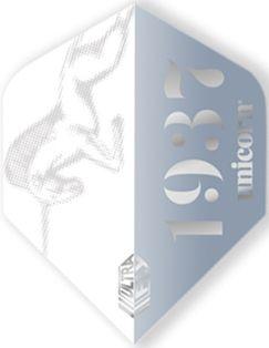 UltraFly Icon Silver Big Wing Unicorn Flight | Darts Warehouse