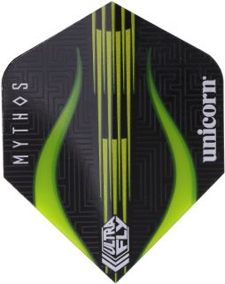 UltraFly Big Wing Mythos Minotaur Lime Unicorn Flight | Darts Warehouse