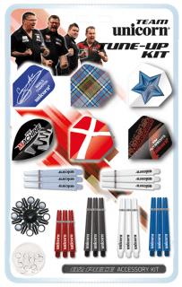 Team Unicorn Accessoire Kit   Darts Warehouse Online Dartshop