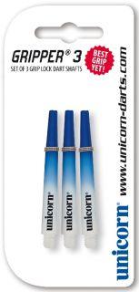Unicorn Nylon Shaft | Unicorn Gripper 3 Two Tone Blue Medium | Online Dartwinkel Darts Warehouse