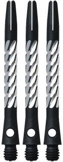Unicorn Premier Aluminium Medium Black Shafts | Darts WareHouse