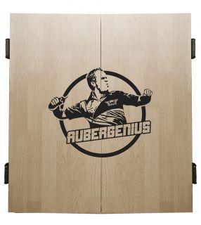 Bull's Aubergenius Deluxe Cabinet Light Oak | Darts Warehouse