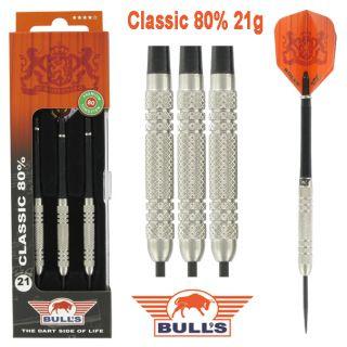 Bulls Classic 80% 21 gram Darts Kopen | Darts Warehouse de online dartwinkel