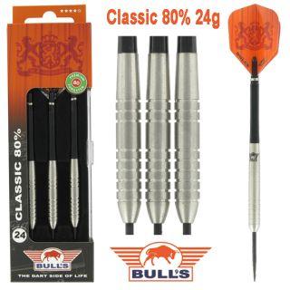 Bulls Classic 80% 24 gram Darts Kopen | Darts Warehouse de online dartshop