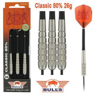 Classic 80% 26 gram | Bulls Darts Kopen