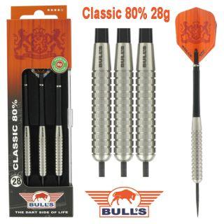 Classic 80% 28 gram | Bulls Darts Kopen | Darts Webwinkel Dartswarehouse