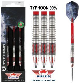 Bull's Typhoon 90% Darts  Darts webwinkel Dartswarehouse