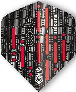 UltraFly Big Wing Code Red Unicorn Flight   Darts Warehouse