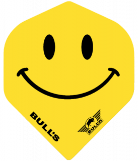 Bull's Powerflight Std. Smiley | Darts Warehouse