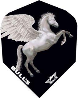 Bull's Powerflight Std.6 White Pegasus | Darts Warehouse