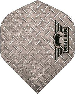 Bull's Powerflite Std. Checker Silver | Darts Warehouse