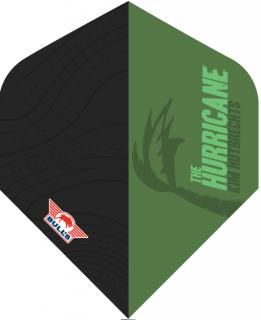 Kim Huybrechts The Hurricane Green Std. Powerflite Bull's | Darts Warehouse