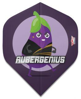 Bulls Player 100 Std. Aubergenius Brass Flights
