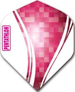 Pentathlon Std. Swirl Pink | Darts Warehouse Dart Flights