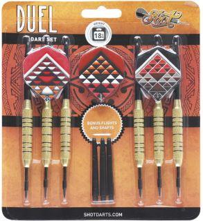 Duel Brass Plated Steeltip 18 gram | Darts Warehouse