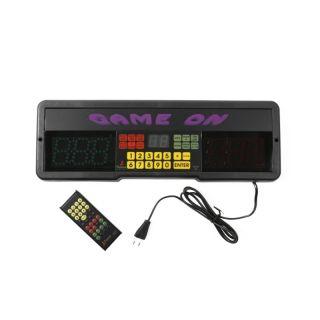 ! Game on scorebord + afstandsbediening