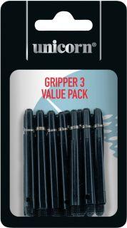 Gripper 3 Value Pack Unicorn Shaft | Darts Warehouse