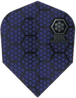 Atomic Std.6 Purple | Harrows flights | Darts Warehouse