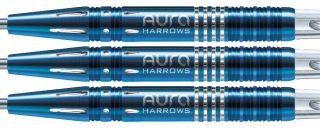 Aura Blue Titanium 95% A Harrows Dartpijlen | Darts Warehouse
